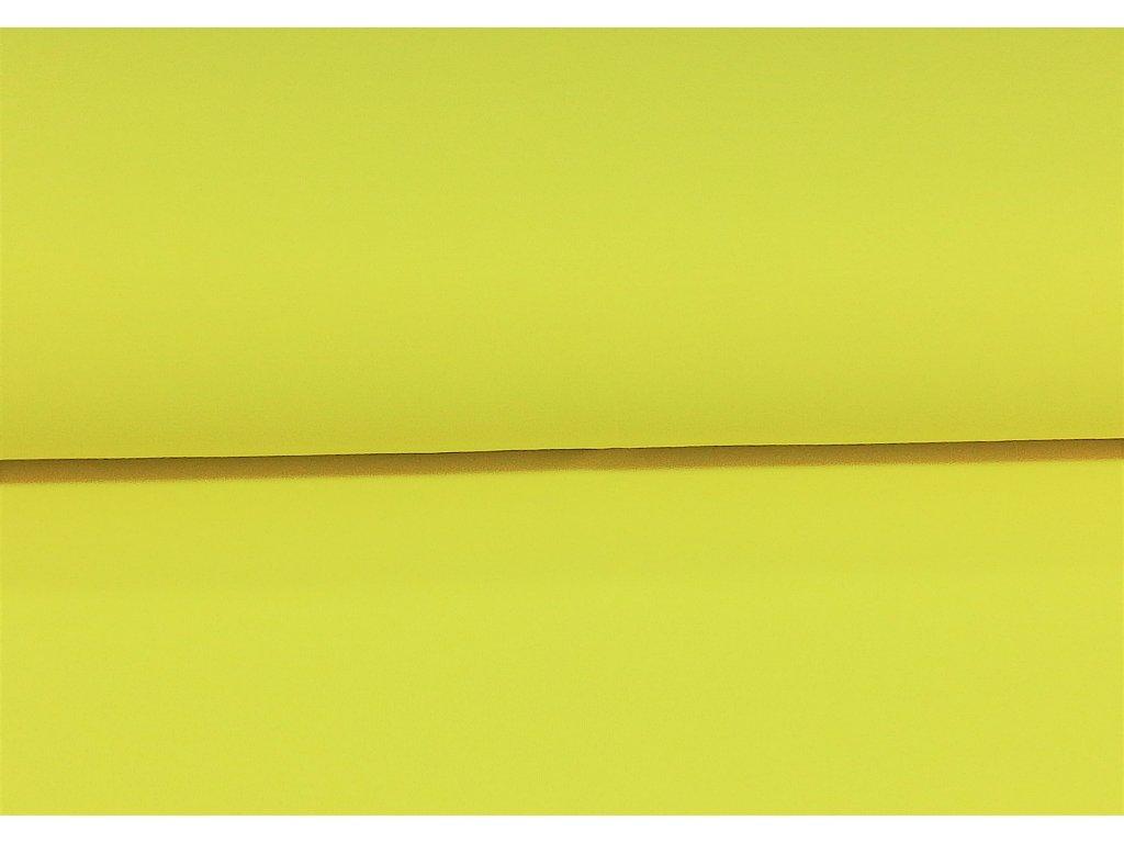teplakovina neon zluta