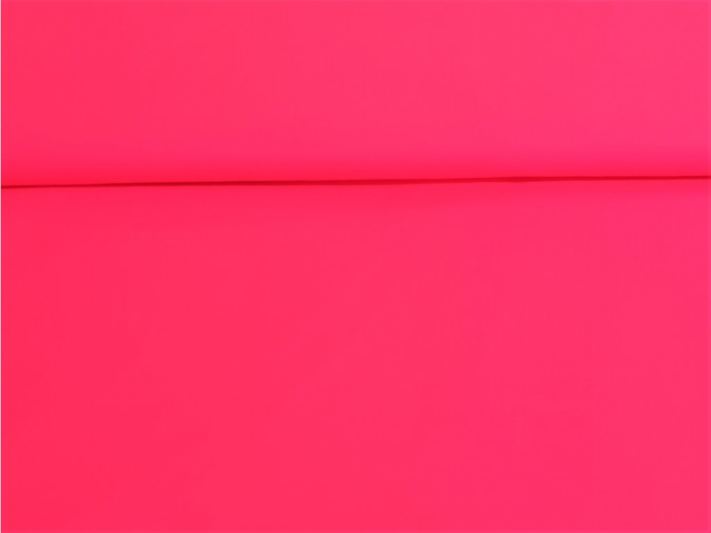 Pružný zimní softshell NEON růžový 5m