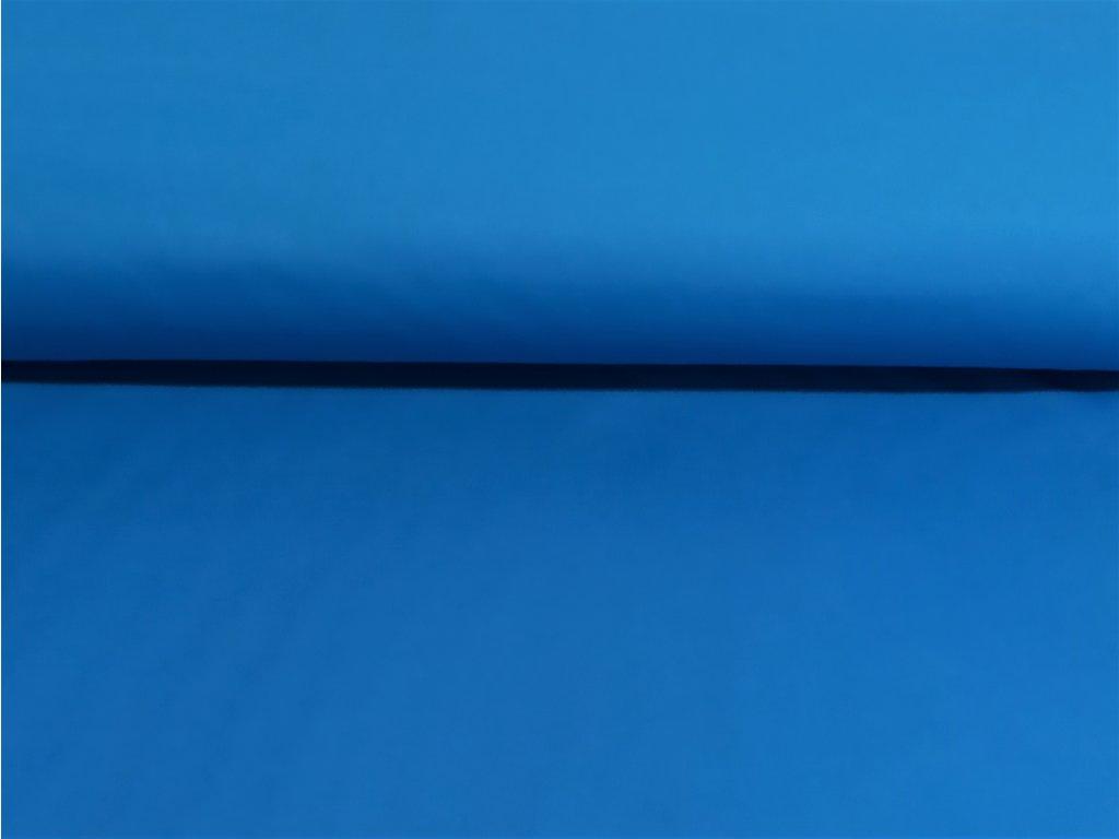 Pružný zimní softshell Modrý 5m