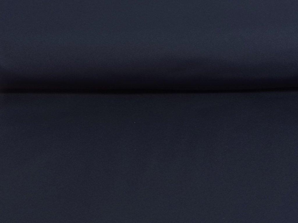 Pružný zimní softshell Tmavě modrý 5m