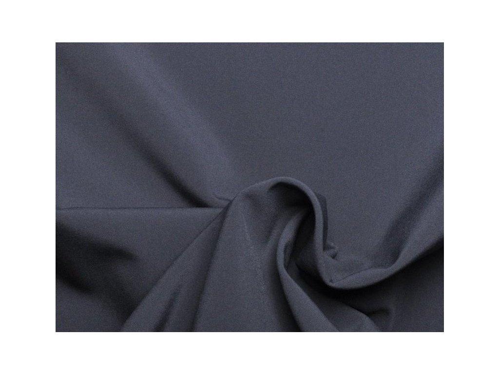 Pružný zimní softshell Tmavě šedý 5m