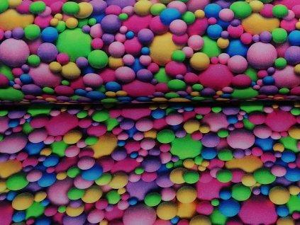 3d barevné míčky