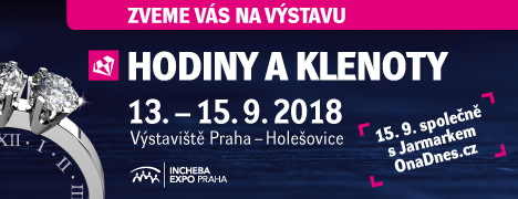 Výstava Hodiny a Klenoty 208 v Praze