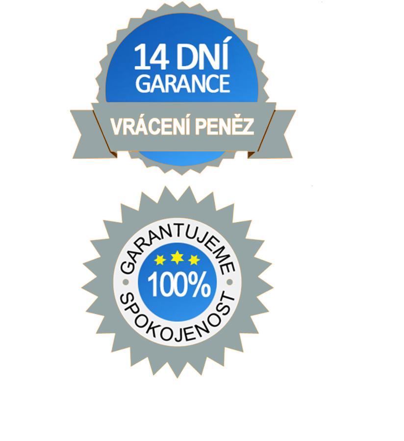 garance logo a vrácení peněz