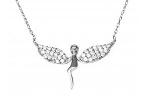 Přívěsek anděl ve stylu náhrdelníku