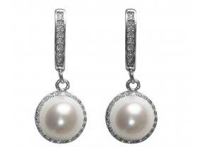 Náušnice pravá perla
