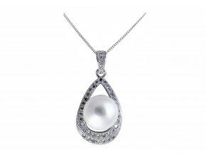 Přívěs pravá perla