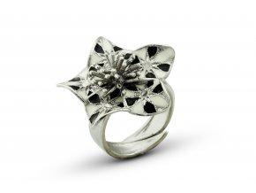Stříbrný prsten 098