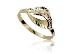 Zlatý prsten 120 ruční montáž