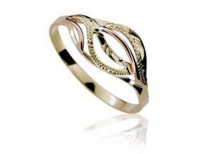 Zlatý prsten 551 ruční montáž
