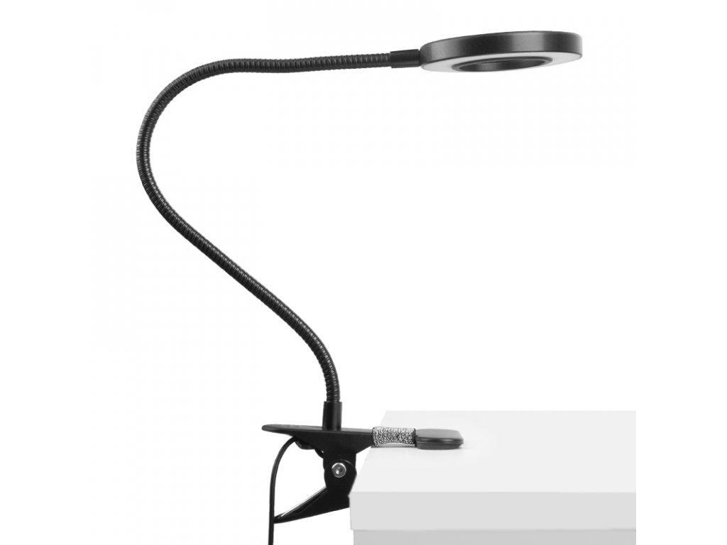 LED kosmetická lampa SNAKE RING stolní
