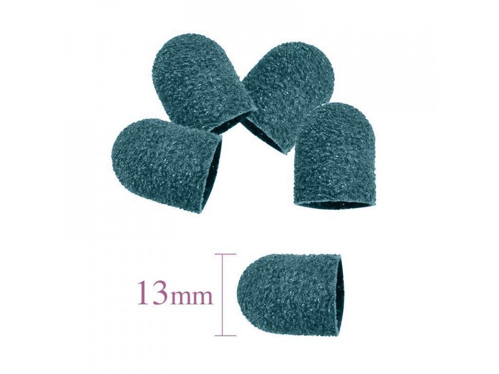 Abrazivní brusný nástavec 13MM/80 10ks zelená, modrá