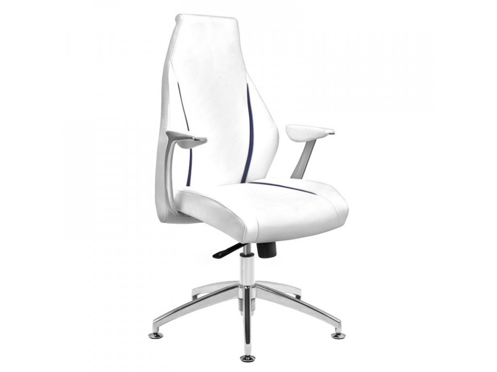 Kosmetická židle RICO 206 bílá