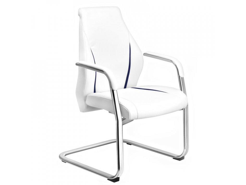 Kosmetická židle RICO 306 Bílá