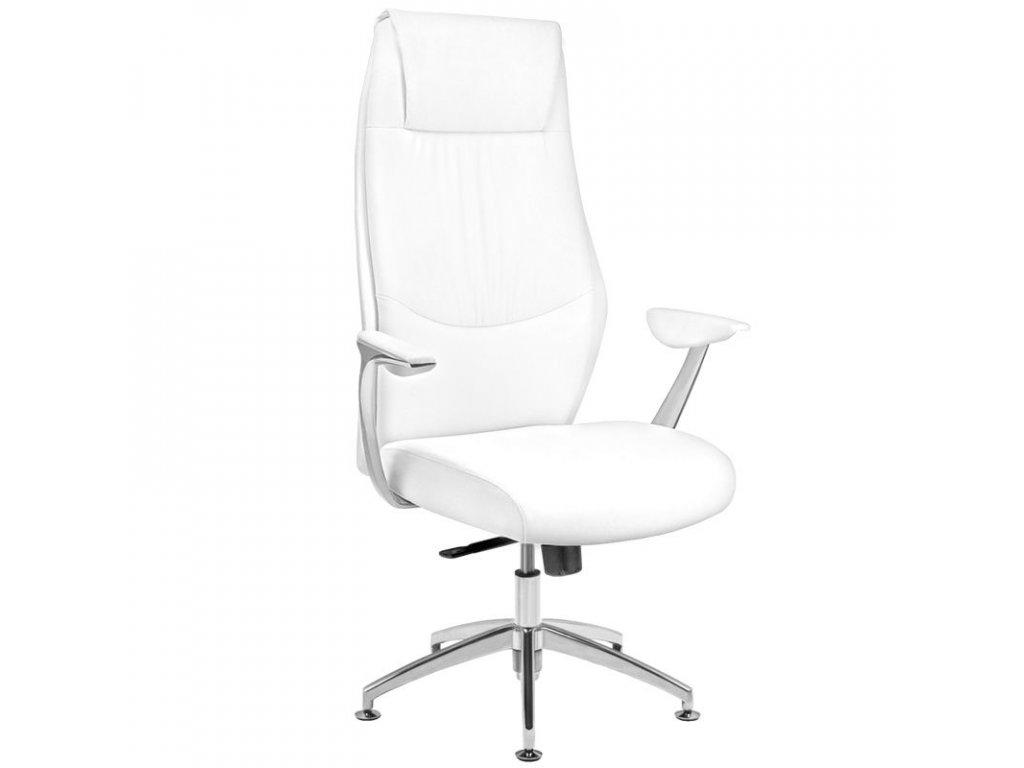 Kosmetická židle  RICO 184 pro manikúru a pedikúru, bílá