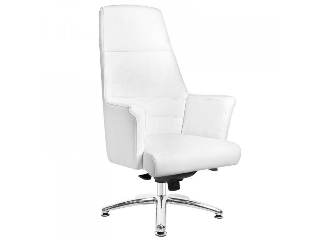 Kosmetická židle RICO 167 bílá