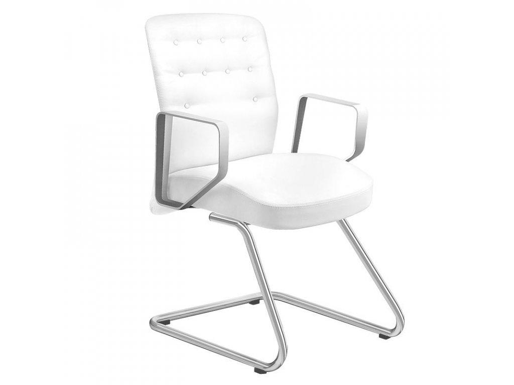Kosmetická židle RICO 399 Bílá