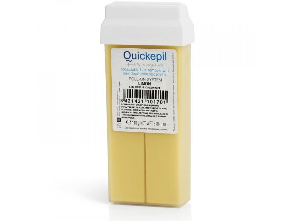 Depilační vosk QUICKEPIL - rolka 100g CITRÓN