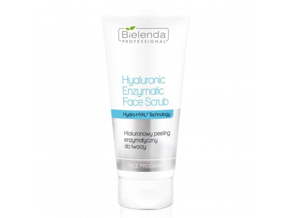 BIELENDA Hyaluronový enzymový peeling na obličej 150g