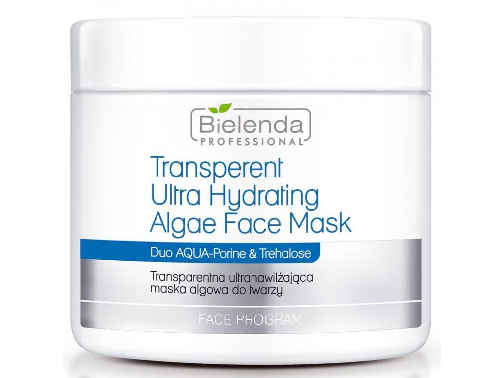 BIELENDA Transparentní ultra-zvlhčující maska na řasy 190g