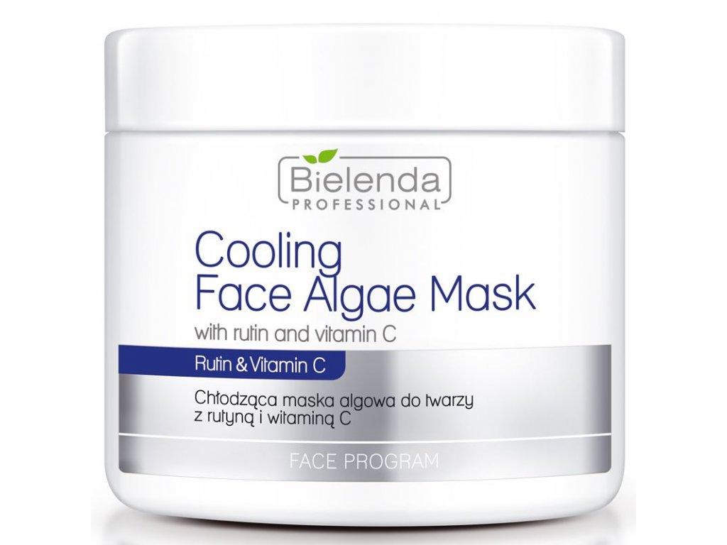 BIELENDA Chladicí maska na řasy s rutinem a vitaminem C 190g