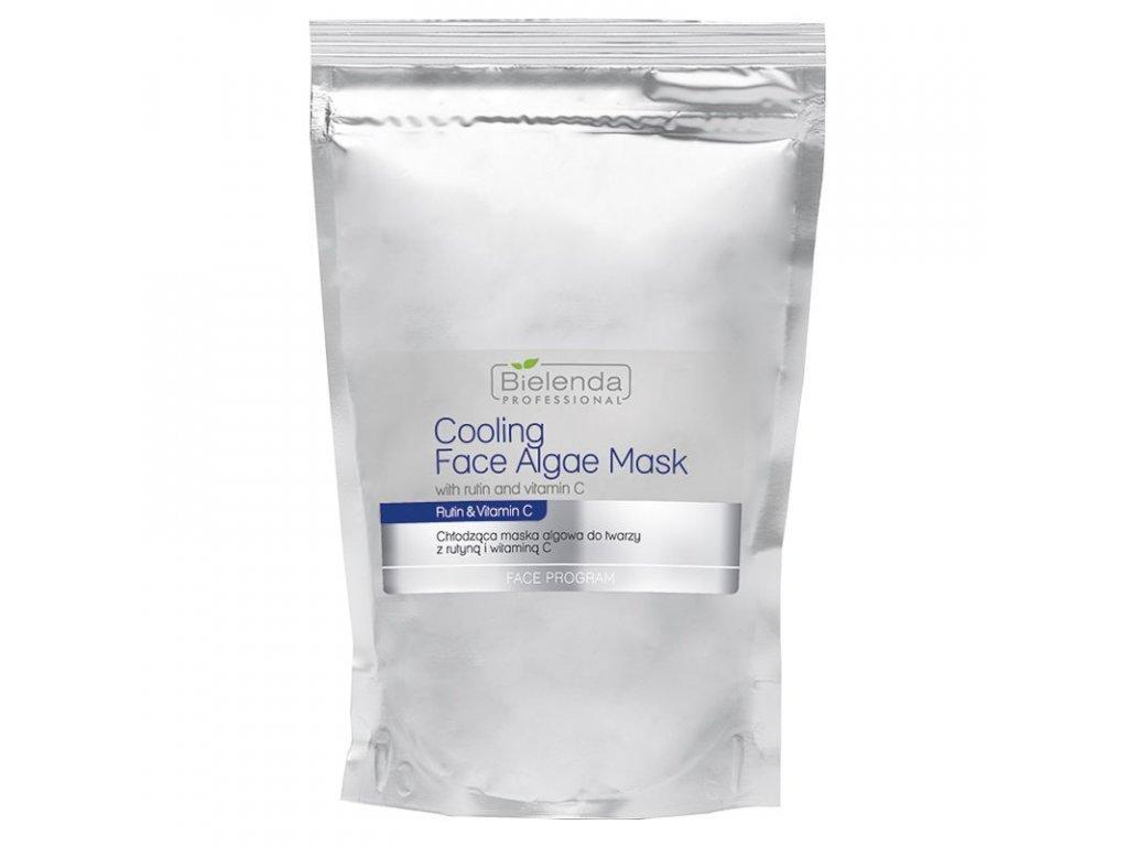 BIELENDA Chladicí maska na obličej s rutinou a vitaminem C 190g