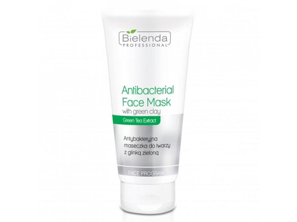 BIELENDA Antibakteriální maska se zeleným jílem 150g