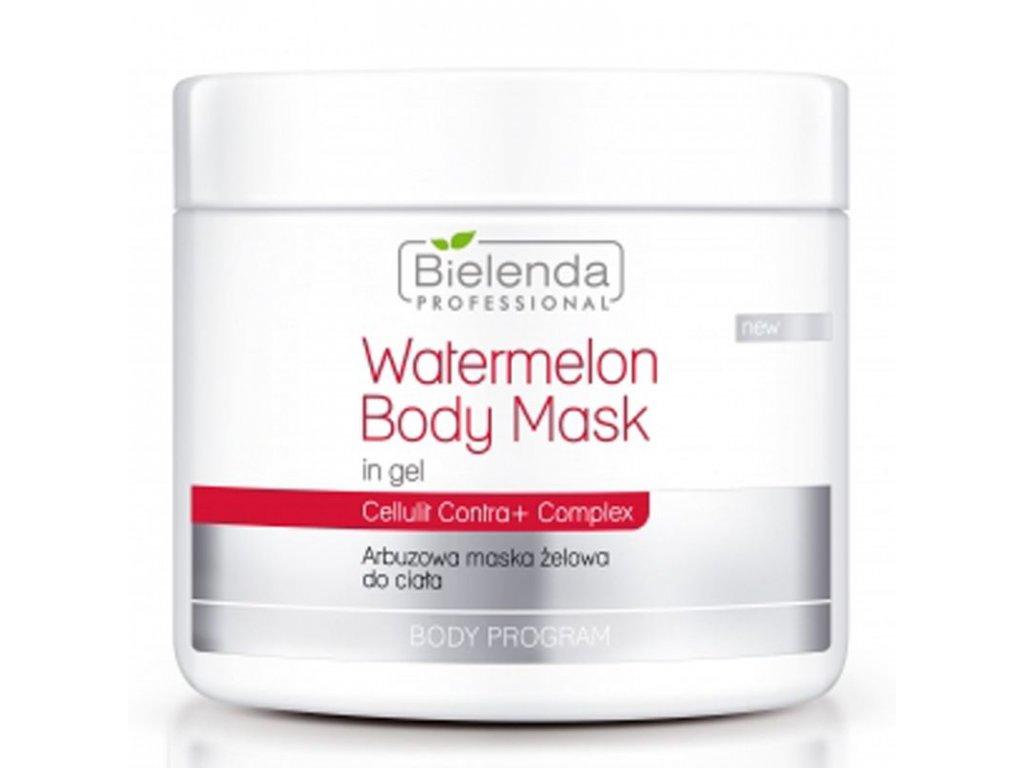 BIELENDA Tělová maska vodní meloun 600ml