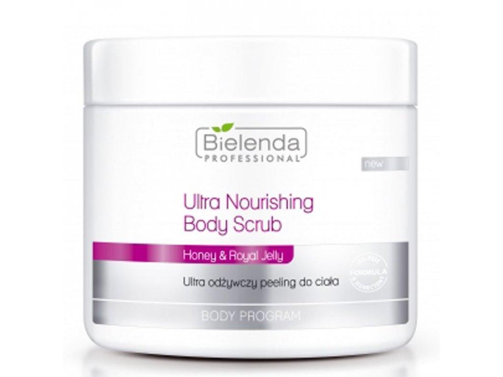 BIELENDA Ultra vyživující tělový peeling 550g