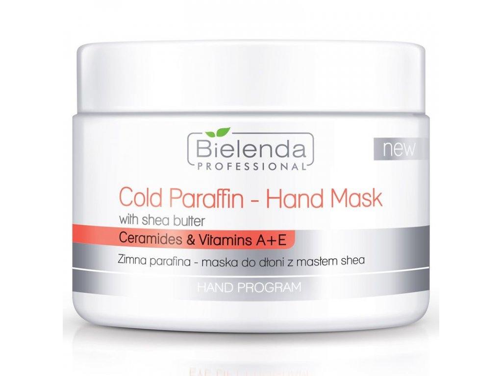 BIELENDA studená parafínová maska na ruce s bambuckým máslem 150g