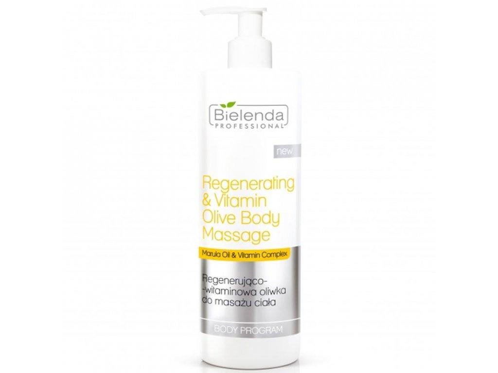 BIELENDA Regenerating - vitaminový olej na masáž těla 500ml
