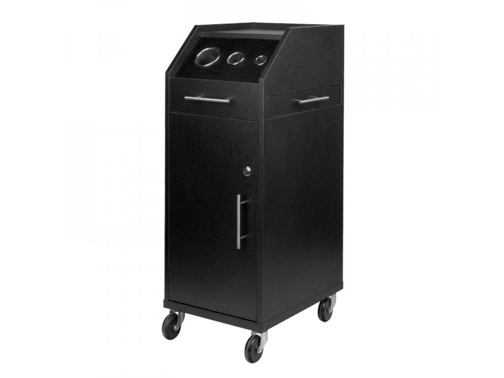 Kadeřnický vozík GABBIANO 900 černý