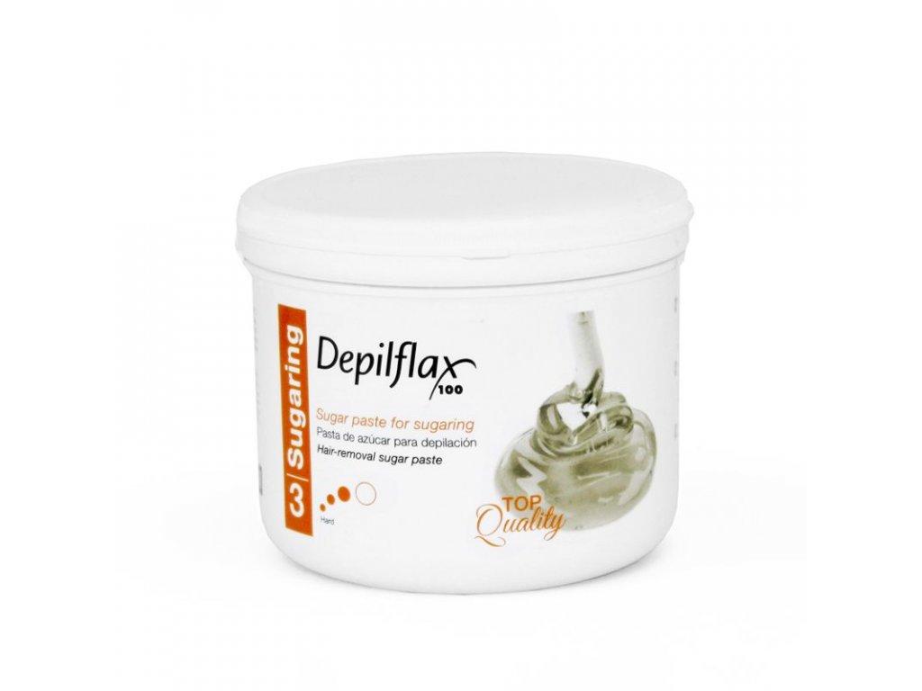 DEPILFLAX 100 Cukrová pasta na depilaci - tvrdá 720g