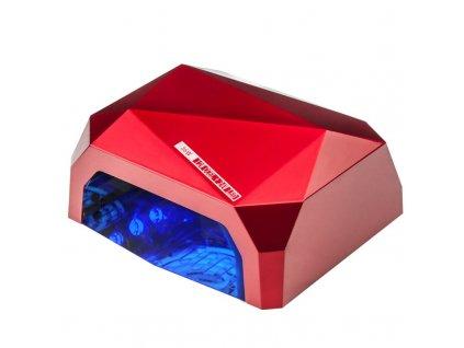 DIAMOND UV lampa 2v1 + časovač CCFL 36W + senzor, červená
