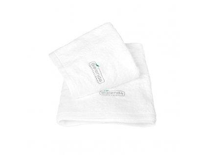 BIELENDA Froté ručník s LOGEM 50 x 100 - bílý