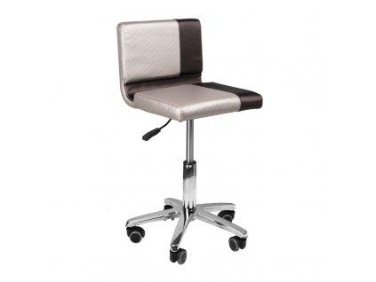 Kadeřnická židle GABBIANO hnědá