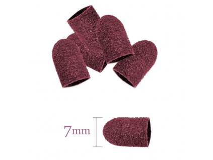 Abrazivní brusný nástavec 7MM/60 10ks růžová