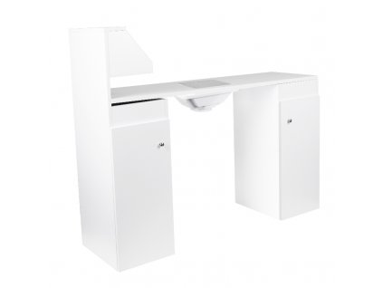 Kosmetický stůl s odsávačkou MT-203 - bílý