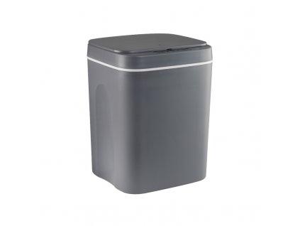 Bezdotykový odpadkový koš 12L - Šedý