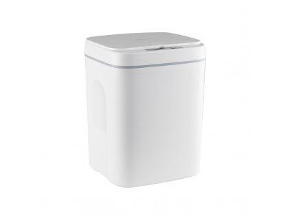 Bezdotykový odpadkový koš 12L - Bílý