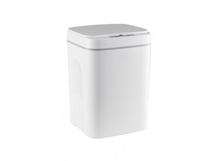 Bezdotykový odpadkový koš 14L - Bílý