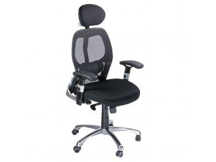 Ergonomická židle CorpoComfort BX-4028A - černá