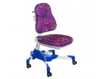Dětská stolní židle BX-001 - fialová