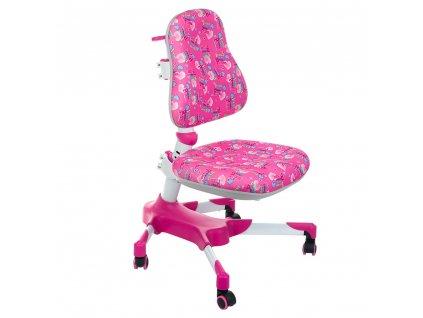 Dětská stolní židle BX-001 - růžová