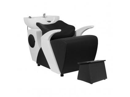 GABBIANO Kadeřnický mycí box C024 černý