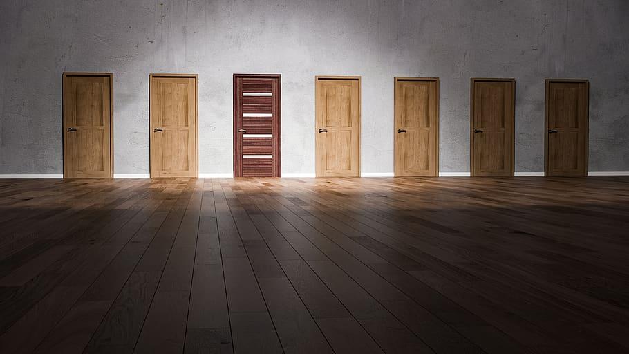 Ako si vybrať interiérové dvere