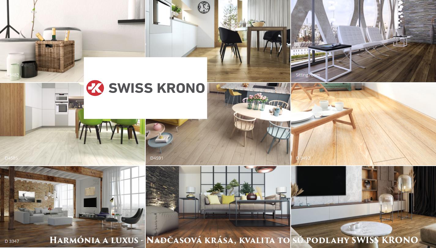 Swiss krono laminatove podlahy