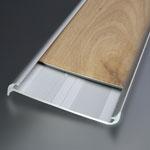 Obojstranný soklový profil 60x15 mm