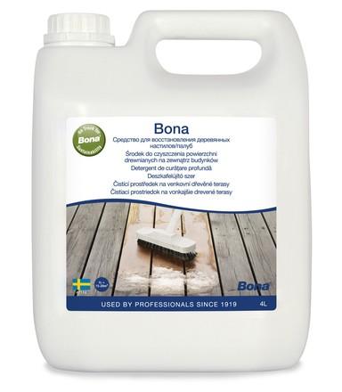 Exteriérové čističe Bona na záhrady a terasy