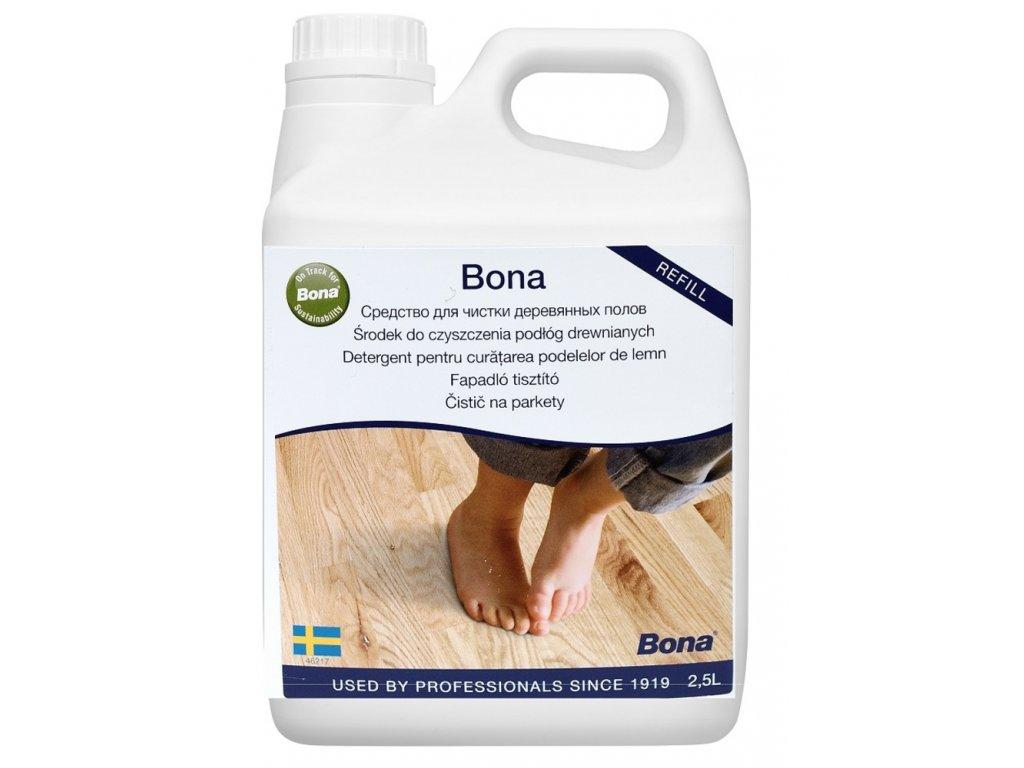 čistič na drevené podlahy Bona 2,5L